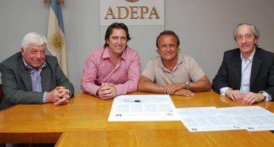 Del Sel firmó un acta por la libertad de prensa