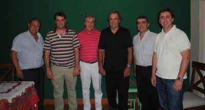 Reutemann con senadores