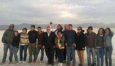Investigador de Israel recorri� Olaroz y ponder� la producci�n de litio en Jujuy