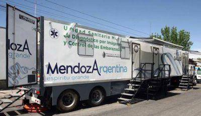 Tunuyán: La Unidad Móvil de Diagnóstico por Imagen recorre el departamento
