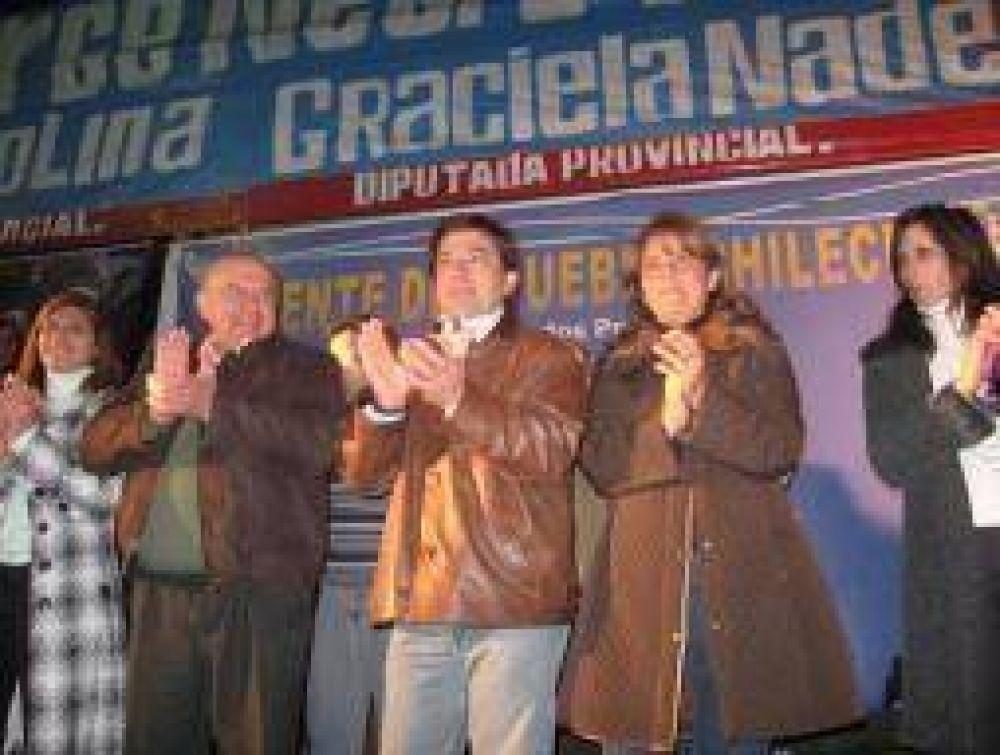 Fuerte respaldo en Chilecito a la alianza Beder-Fonzalida