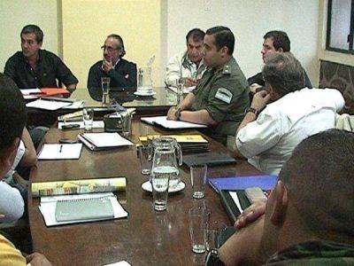 El Consejo Provincial de Emergencia analizó mecanismos de prevención
