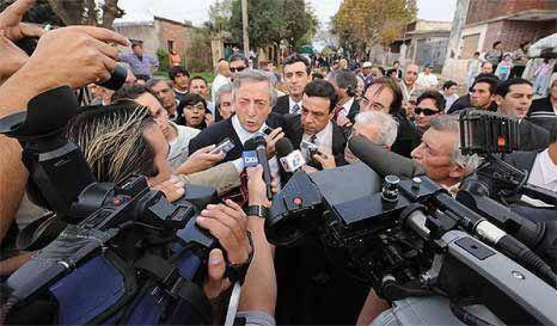 """""""Los errores de mi gestión los está corrigiendo Cristina"""""""