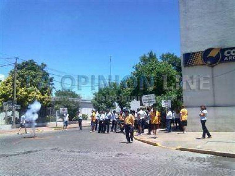 Otra manifestación de los trabajadores del Correo