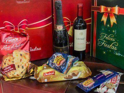 La canasta navideña viene con un 20% de aumento