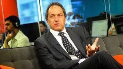 Scioli negó aumento impositivo y cambios de gabinete