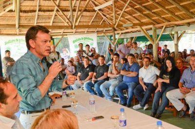 Conurbano: se lanzó en Berazategui el primer candidato massista a intendente