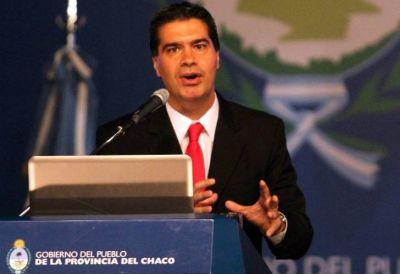 Capitanich elogió su gestión en Chaco y defendió su patrimonio