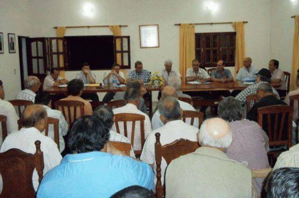 Consorcios Camineros eligieron delegados zonales