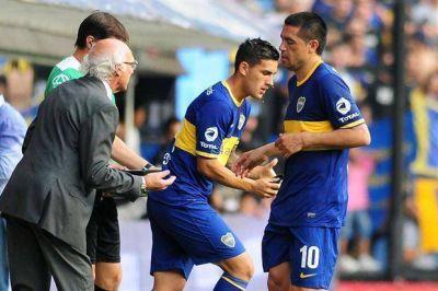 Otra lesión en Boca: Juan Román Riquelme duró apenas 15 minutos ante All Boys