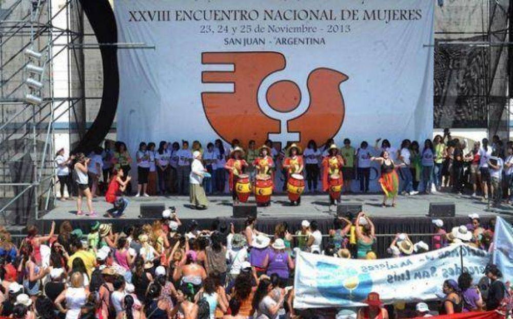 ATE Pilar en el encuentro Nacional de Mujeres en San Juan
