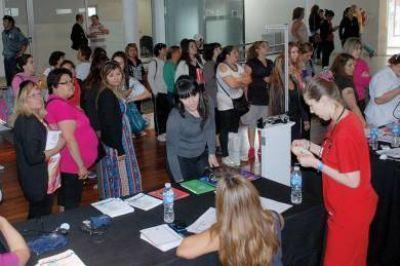 Las charlas sobre obesidad y sobrepeso contaron con una gran participación de la comunidad