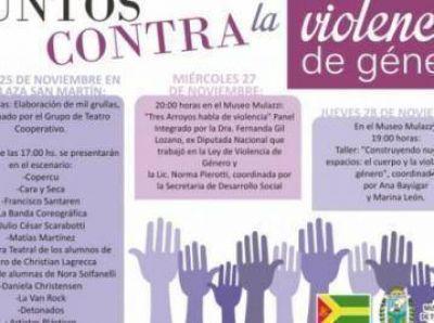 Reprogramarán los actos por el Día de la Violencia de Género