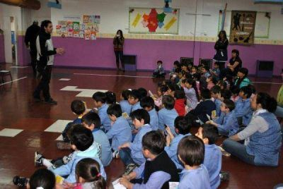 El municipio contin�a con las tareas de educaci�n vial en los jardines de infantes
