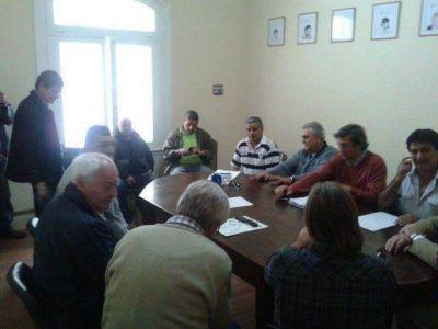 Reunión por le desempleo elevado en Mar del Plata
