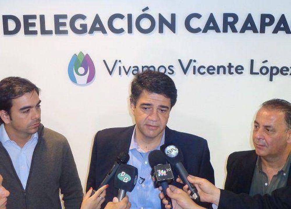 Jorge Macri dejó reinaugurada la delegación municipal de Carapachay