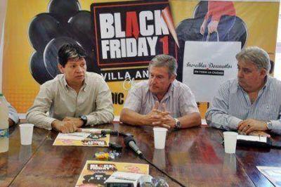 Villa Angela: CAME y FECHACO en el lanzamiento del Black Friday