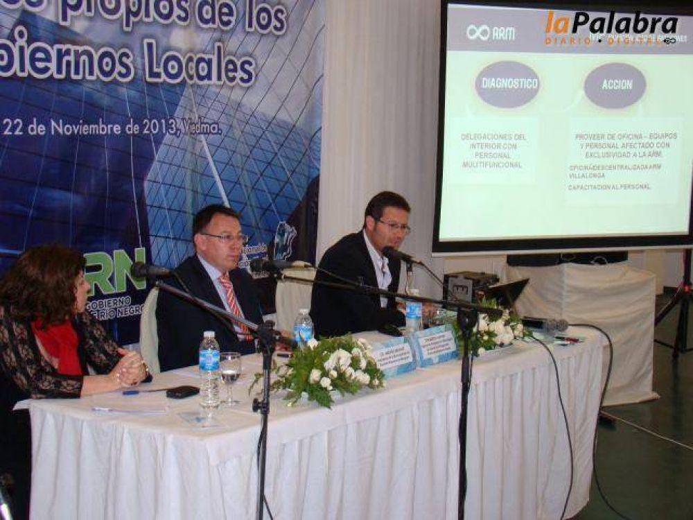 La ARM expuso en el IV Seminario sobre Estadísticas Fiscales de los Gobiernos Municipales