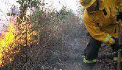 Aun quedan dos incendios forestales activos