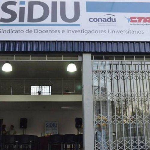 Sindicato de Docentes e Investigadores Universitarios (SIDIU)